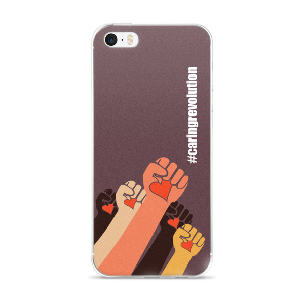 Gwendolyn Faye | Caring Revolution iPhone Case