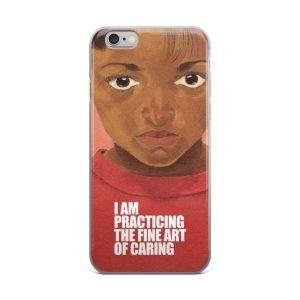 Gwendolyn Faye | Fine Art of Caring iPhone Case