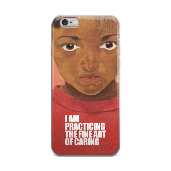 Gwendolyn Faye | Fine Art of Caring iPhone Case