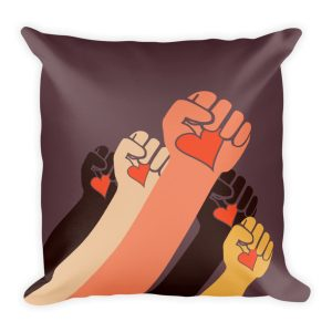 Gwendolyn Faye | Caring Revolution Pillow