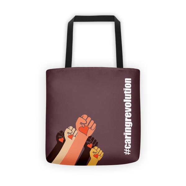 Gwendolyn Faye | Caring Revolution Tote Bag